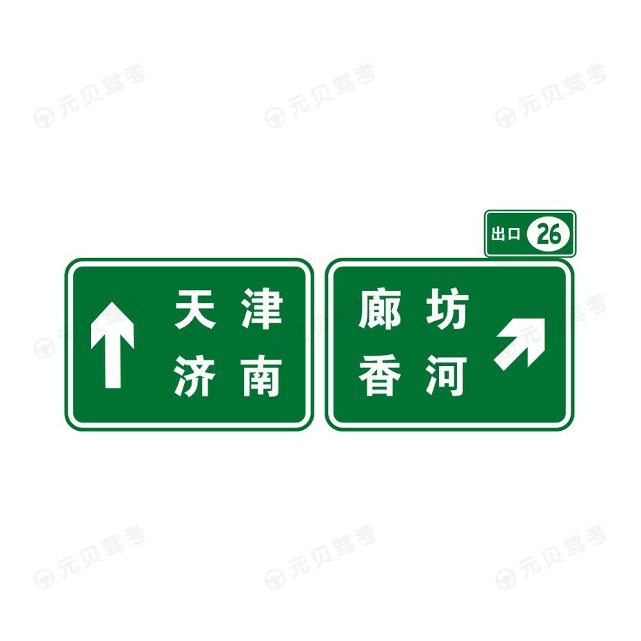出口地点方向3