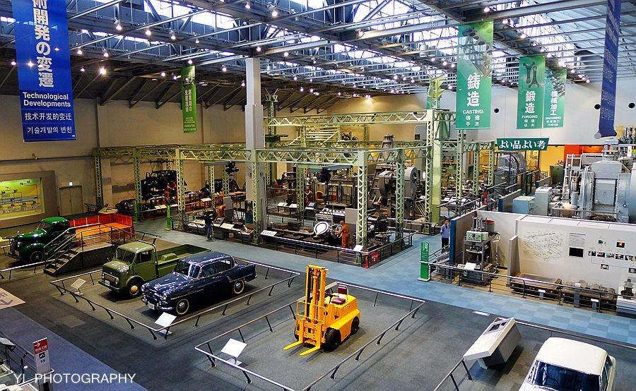 日本丰田汽车产业技术纪念馆(二):汽车展馆图片