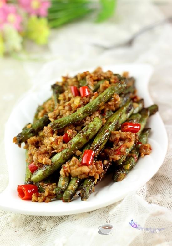 肉末干煸豆角 - 叶子的小厨 - 叶子的小厨