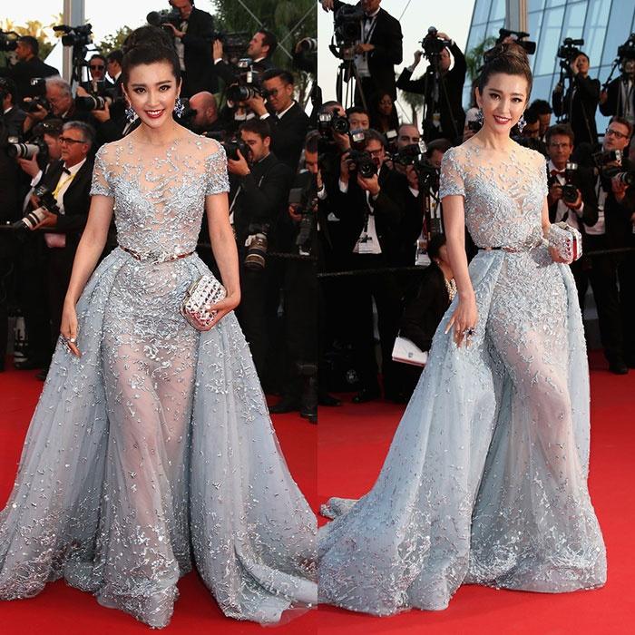 时尚经|戛纳电影节各女神争奇斗艳 - toni雌和尚 - toni 雌和尚的时尚经
