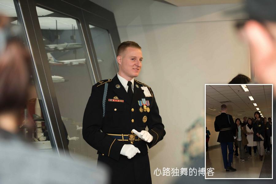 中国游客惊呼,五角大楼导游的颜值逆天了 - 心路独舞 - 心路独舞