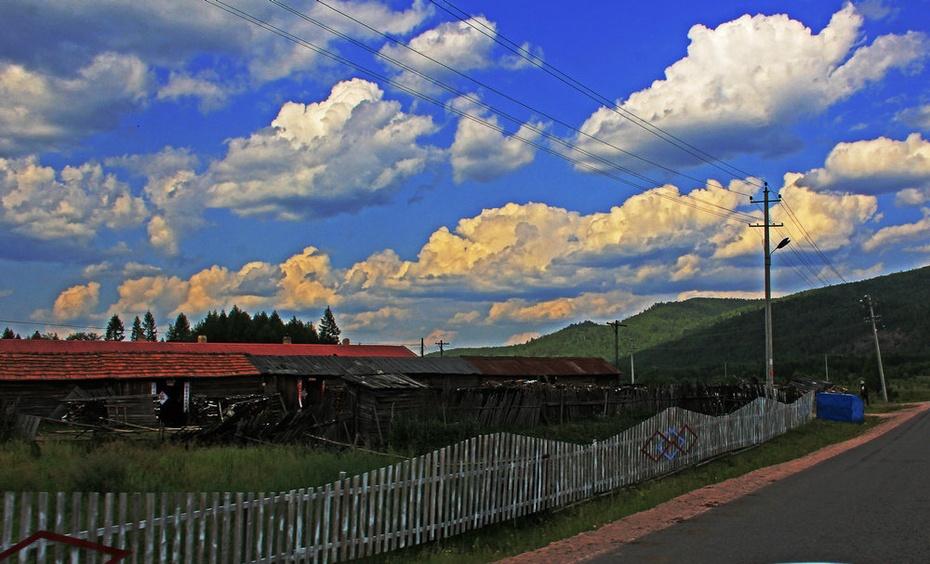 林区穿越大兴安岭,天高云淡水碧山青--暑期东北行之十七 - 侠义客 - 伊大成 的博客