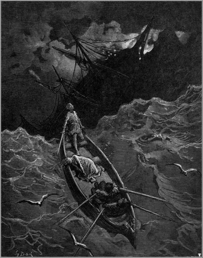 """河上的情景时,老人叹了一口气.""""-配图看魔戒65白袍再现 下 甘"""