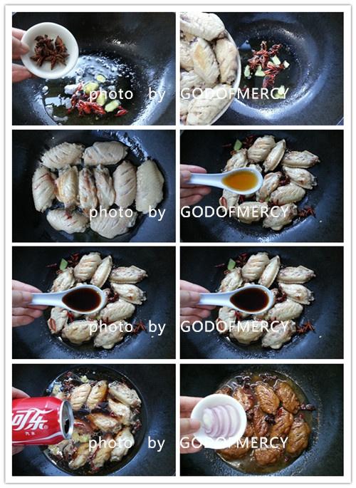 夏季拯救胃口能量餐:甜辣可乐鸡翅 - 慢美食博客 - 慢美食博客 美食厨房