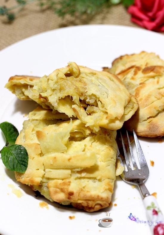 酥皮香蕉派 - 叶子的小厨 - 叶子的小厨