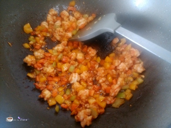 时蔬炒虾仁 - 叶子的小厨 - 叶子的小厨