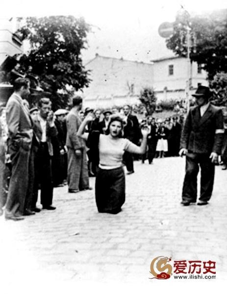 """乌克兰""""起义军""""对犹太人的凌辱和屠杀 - 爱历史 - 爱历史---老照片的故事"""
