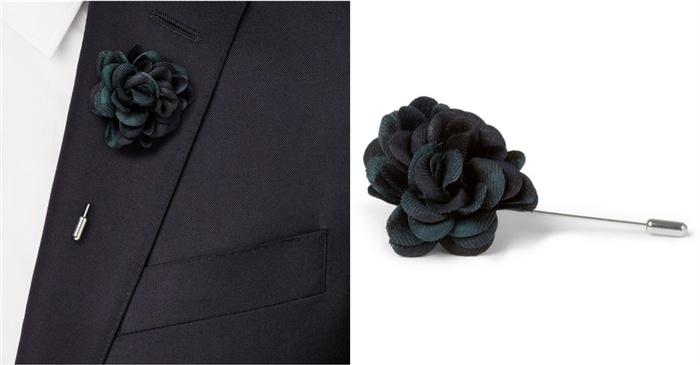 胸花与方巾基本佩戴方式 - GQ智族 - GQ男士网官方博客