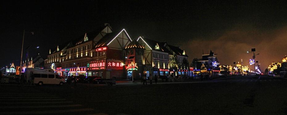湖畔赏夜色,梦幻阿尔山--暑期东北行之三 - 侠义客 - 伊大成 的博客