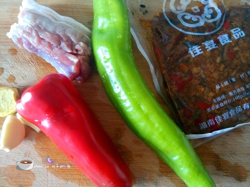 外婆菜炒肉丁 - 叶子的小厨 - 叶子的小厨