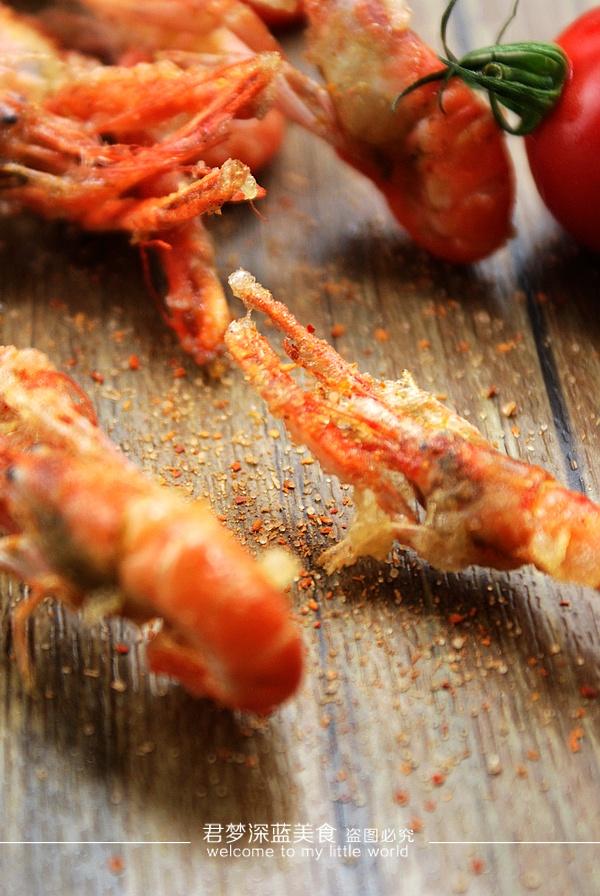 【油炸小甲虾】---味鲜补钙的迷你版小龙虾 - 慢美食 - 慢   美   食