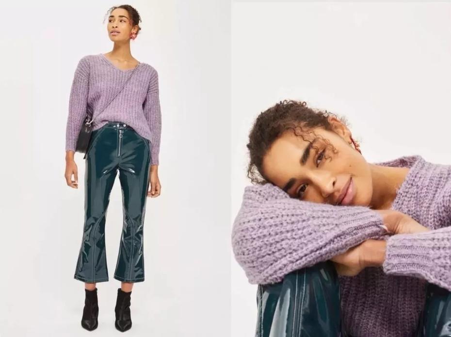 """看完这篇2018最难穿的""""电光紫""""也不在话下 - toni雌和尚 - toni 雌和尚的时尚经"""