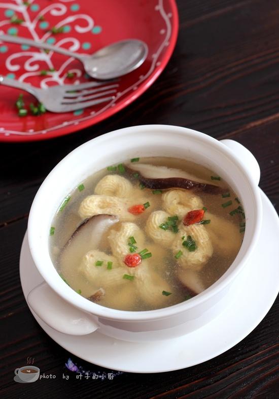 香菇芙蓉汤 - 叶子的小厨 - 叶子的小厨