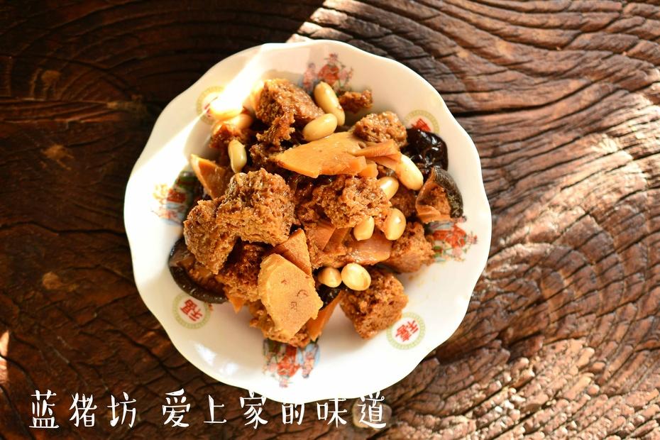 江浙沪名菜——四喜烤麸,素菜也能比肉香 - 蓝冰滢 - 蓝猪坊 创意美食工作室