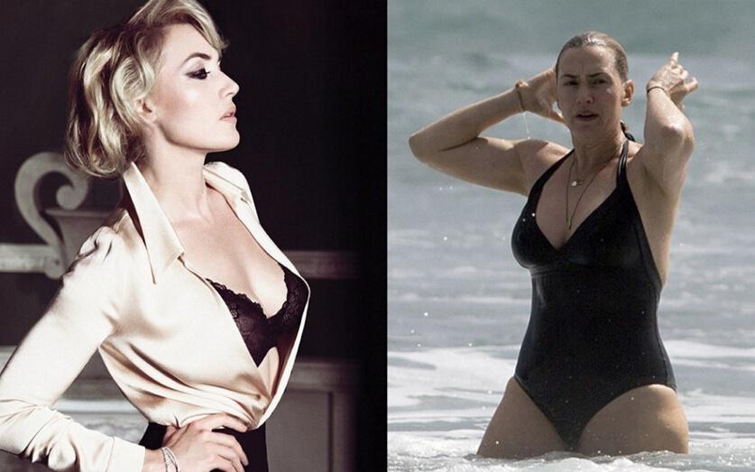 减肥绝对是部励志片!明星胖瘦对比照判若两人图片