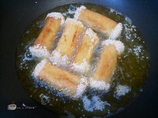 芝麻香芋泥 - 叶子的小厨 - 叶子的小厨