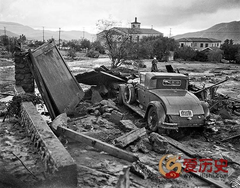 1934年洛杉矶洪水 造成数十人死伤 - 爱历史 - 爱历史---老照片的故事