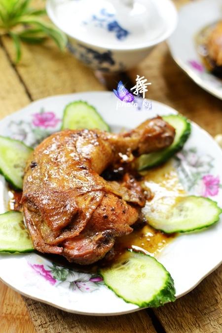 盐焗鸡腿 - 慢美食博客 - 慢美食博客 美食厨房