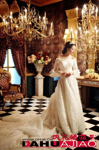 欧式婚纱照画面风格除了豪
