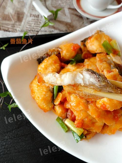 酸酸甜甜开胃菜---番茄鱼片 - 清风 - everbright0411的博客
