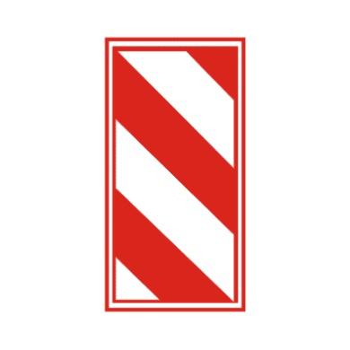 右侧通行用于引导行车方向,提示道路使用者前方线形变化,注意谨慎驾驶。设于中央隔离设施端部、渠化设施的端部、桥头等。