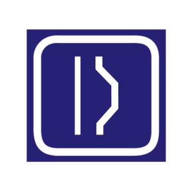避车道用于指示前方设有避让来车的处所,宜设在双向错车困难路段上距错车道100 m-- 150 m处。