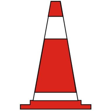 錐形交通標