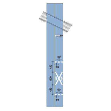 铁路平交道口标线