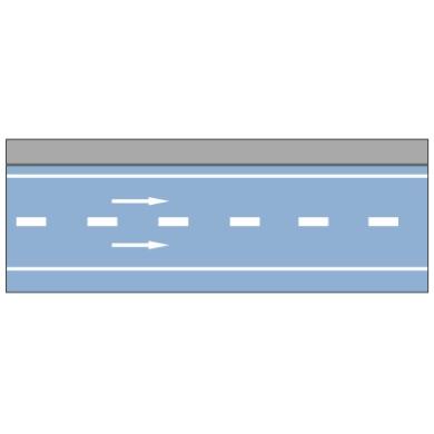 车行道边缘线