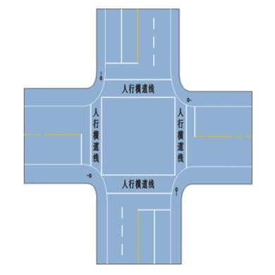 人行横道(信号灯路口)