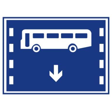 公交线路专用车道