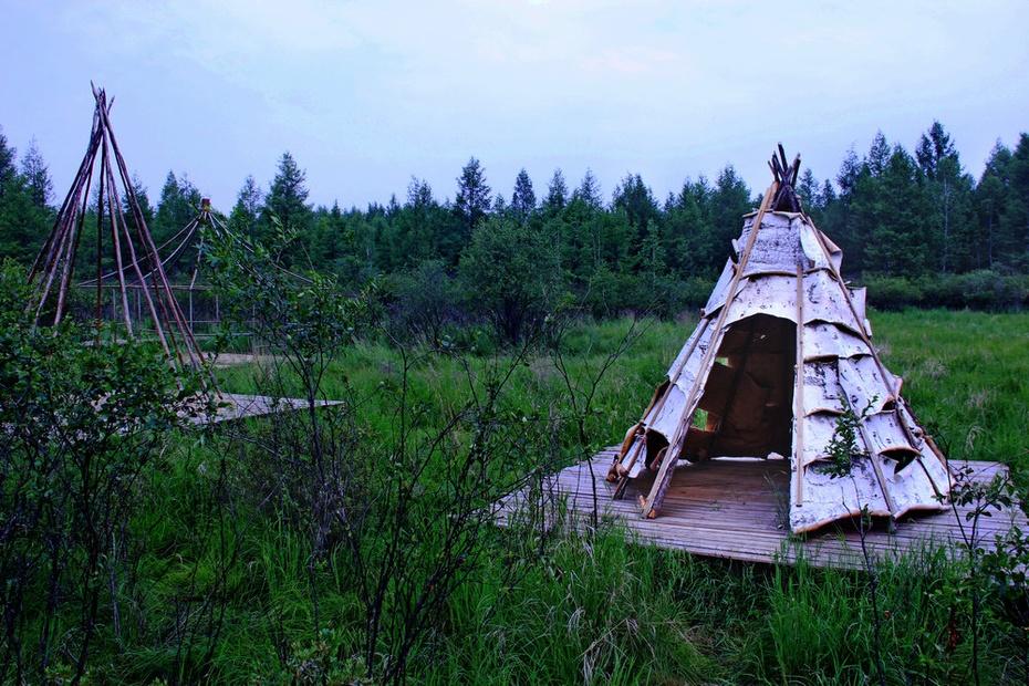 敖鲁古雅喂驯鹿,鄂温克民俗博物馆--暑期东北行之十六 - 侠义客 - 伊大成 的博客