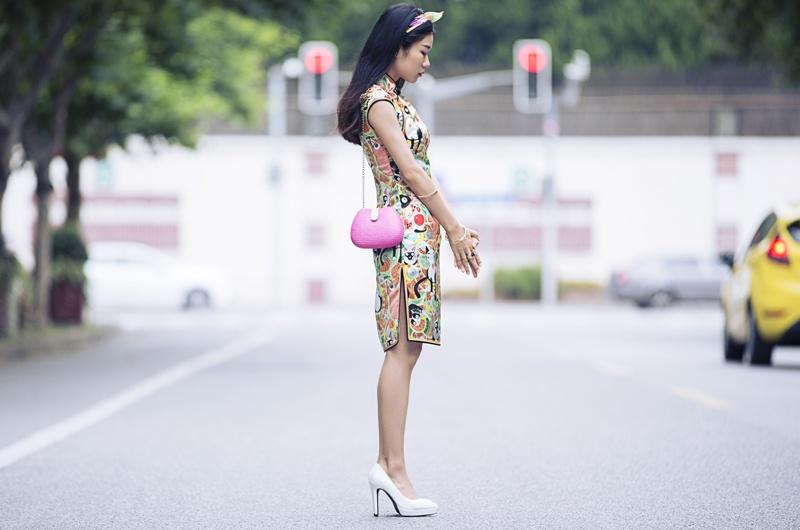[Ava搭配日记]旗袍也童趣 - AvaFoo - Avas Fashion Blog