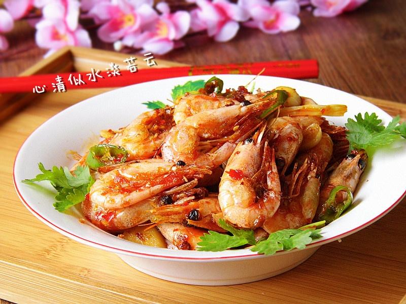 美味馋嘴菜【吮指香辣虾】 - 纸皮核桃 微信 c24628 - 185纸皮核桃的美食博客
