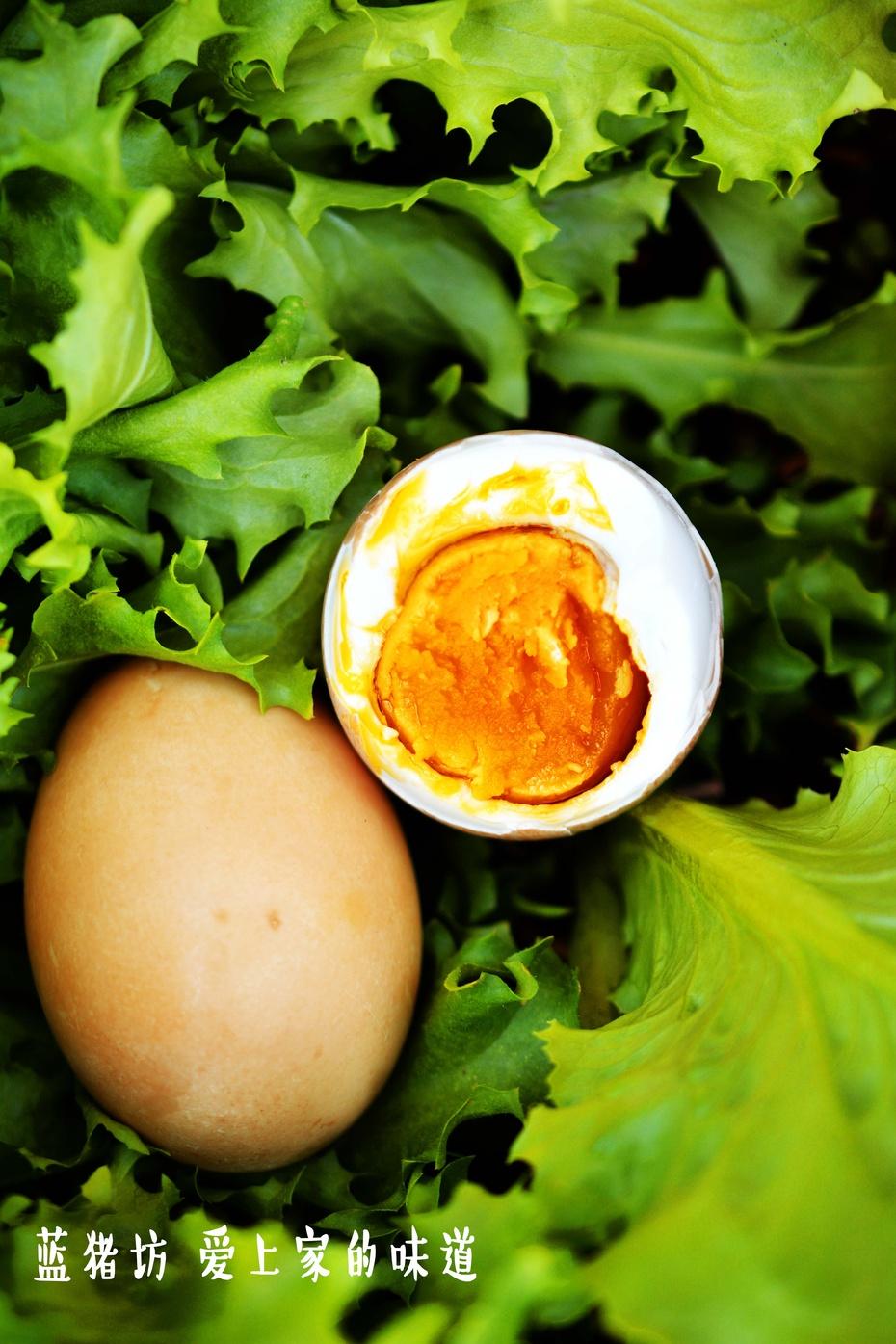 五香咸鸭蛋,家的味道,就是这样的味道 - 蓝冰滢 - 蓝猪坊 创意美食工作室