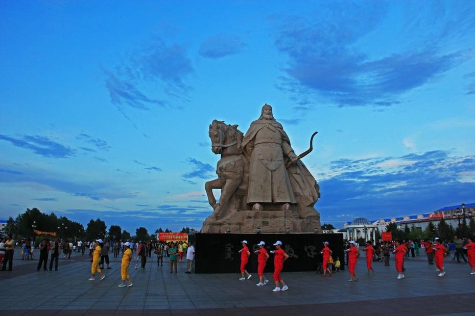 哈萨尔广场舞夕阳,额尔古纳湿地风光—暑期东北行之三十一 - 侠义客 - 伊大成 的博客