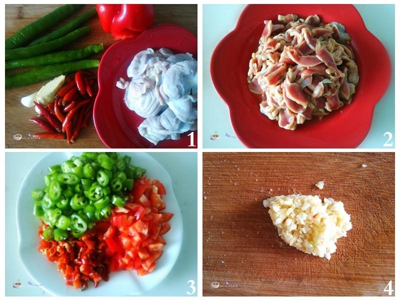脆辣鸡胗 - 慢美食博客 - 慢美食博客 美食厨房