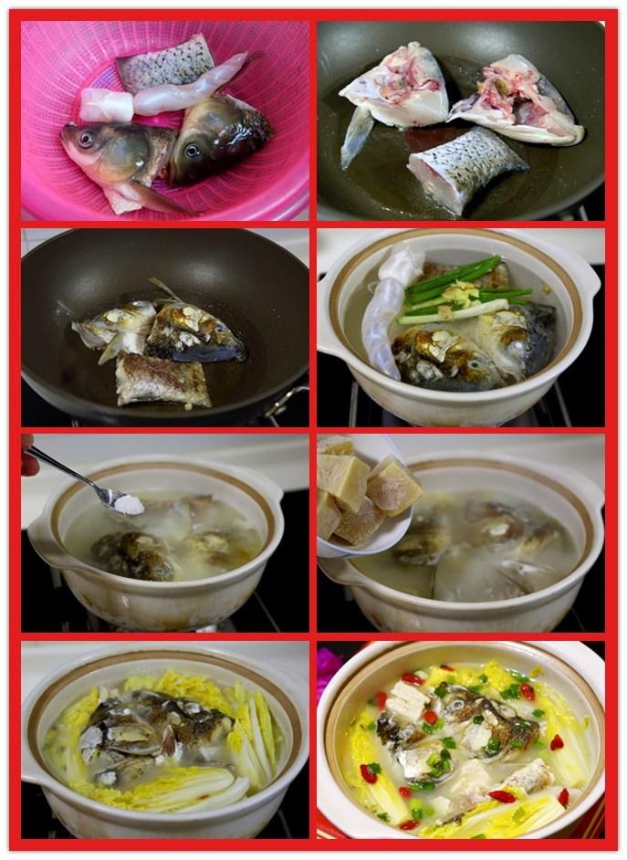 冻豆腐炖鱼头,有余还有福 - 慢美食 - 慢 美 食
