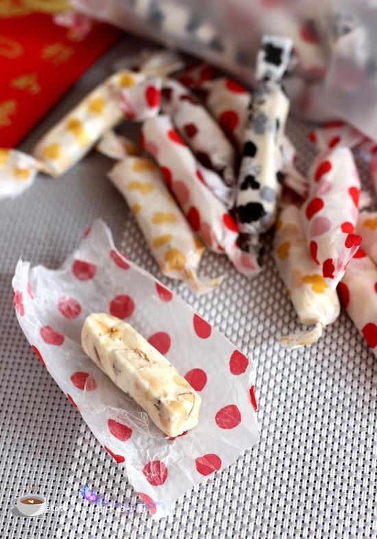 杏仁花生牛轧糖 - 叶子的小厨 - 叶子的小厨