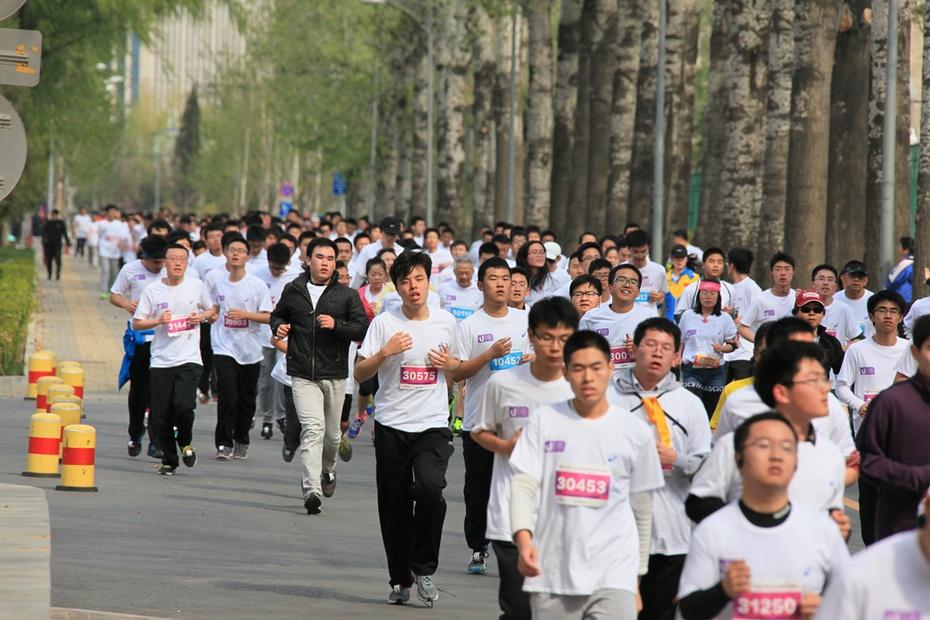 清华大学2015马拉松