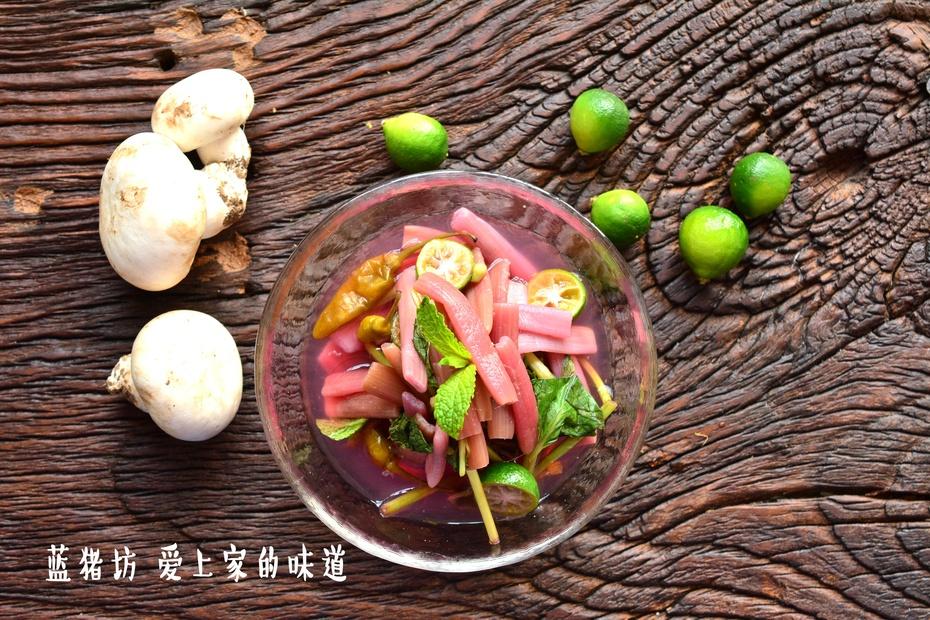 据说藕带这样做不仅健康吃了还能变瘦 - 蓝冰滢 - 蓝猪坊 创意美食工作室