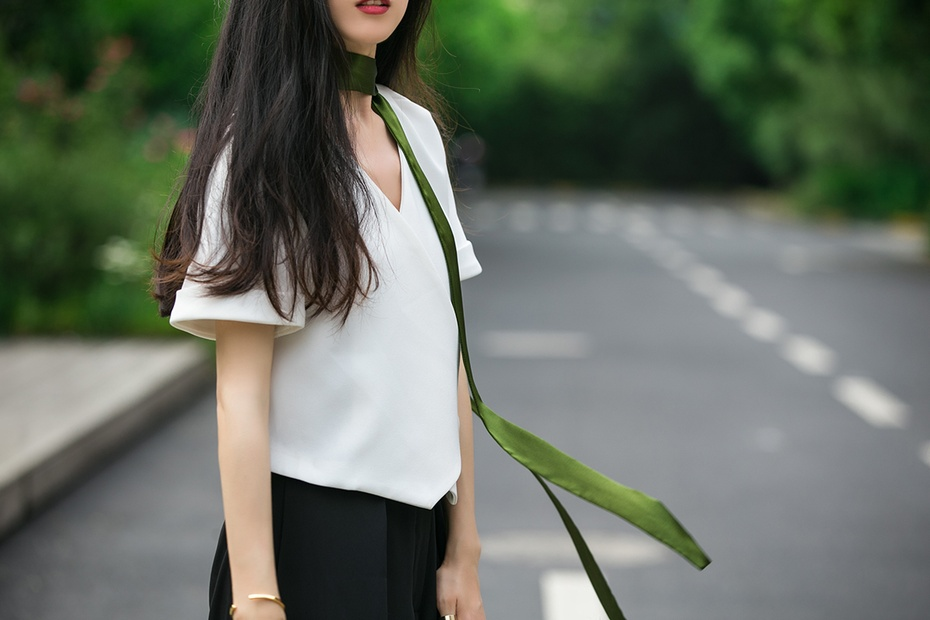 [Ava搭配日记]黑白穿搭不单调 - AvaFoo - Avas Fashion Blog
