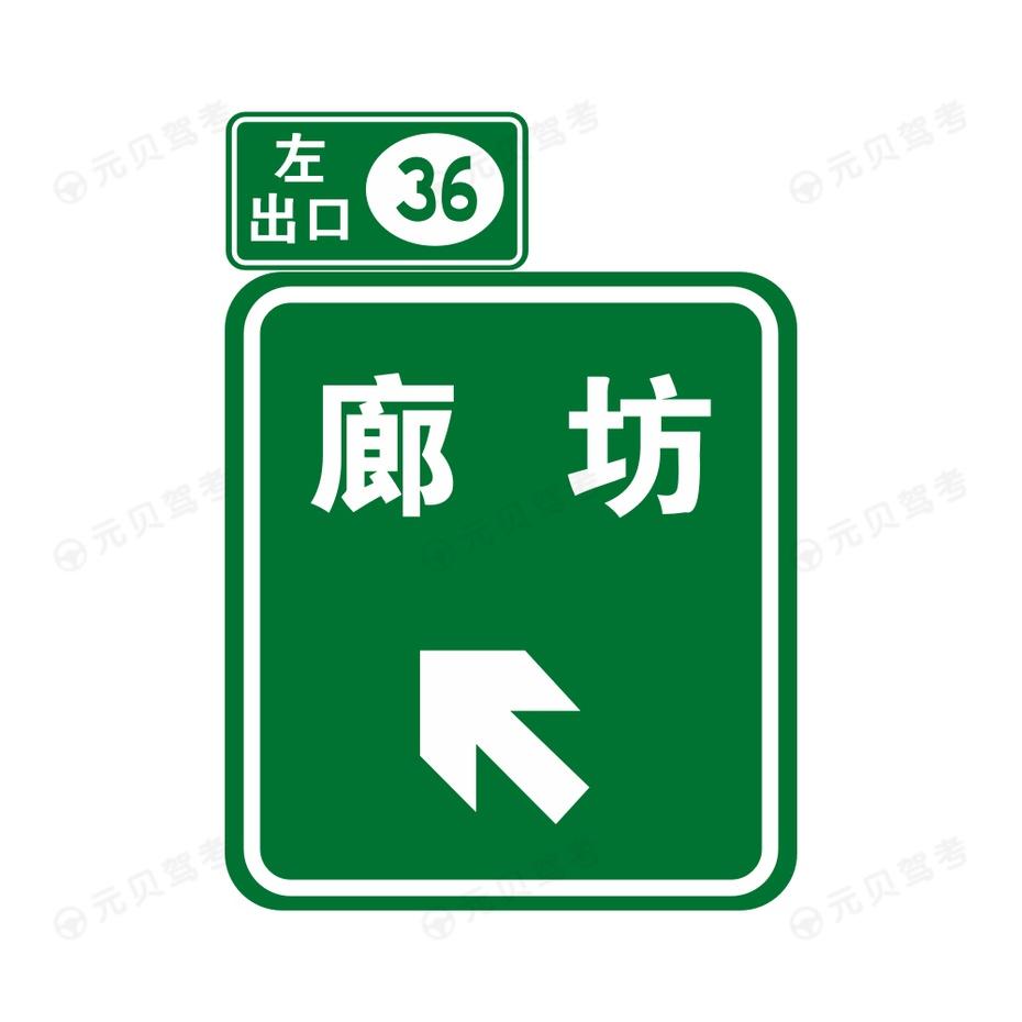 出口地点方向2