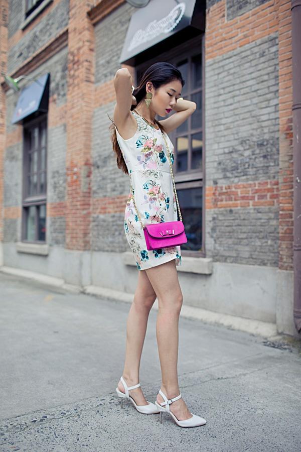 【Ava搭配日记】印花one piece - AvaFoo - Avas Fashion Blog