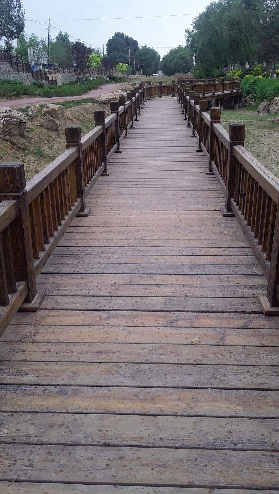 骑行篇:建设中的环城河公园 - 淡淡云 - 淡淡云