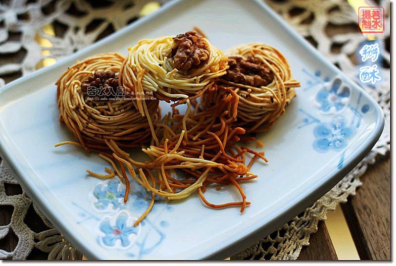 私房点心:改良老北京盘丝饼 - 纸皮核桃 微信 c24628 - 185纸皮核桃的美食博客