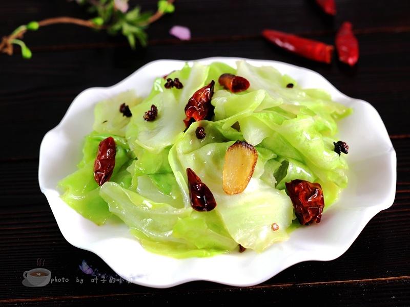 详解怎样做好一盘恰到好处的炝炒圆白菜 - 叶子的小厨 - 叶子的小厨