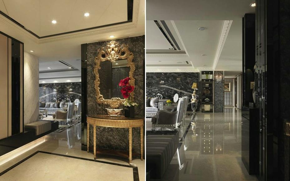 墙纸是新古典主义装饰风格中重要的装饰材料,金银漆、亮粉、金属质感材质的全新引入,为墙纸对空间的装饰提供了更广的发挥空间。新古典装修风格的壁纸具有经典却更简约的图案、复古却又时尚的色彩。  装饰材料:主材/常见的壁炉、罗马柱、水晶宫灯、蜡烛台式吊灯、盾牌式壁灯、戴帽式台灯、米色大理石、欧式壁纸,地毯,实木地板、欧式仿古砖都是新古典风格中常用的材料。