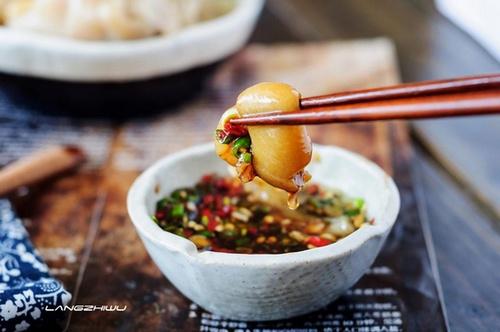 酸菜猪蹄 ---- 酸香味醇美容菜-狼之舞 - 荷塘秀色 - 茶之韵