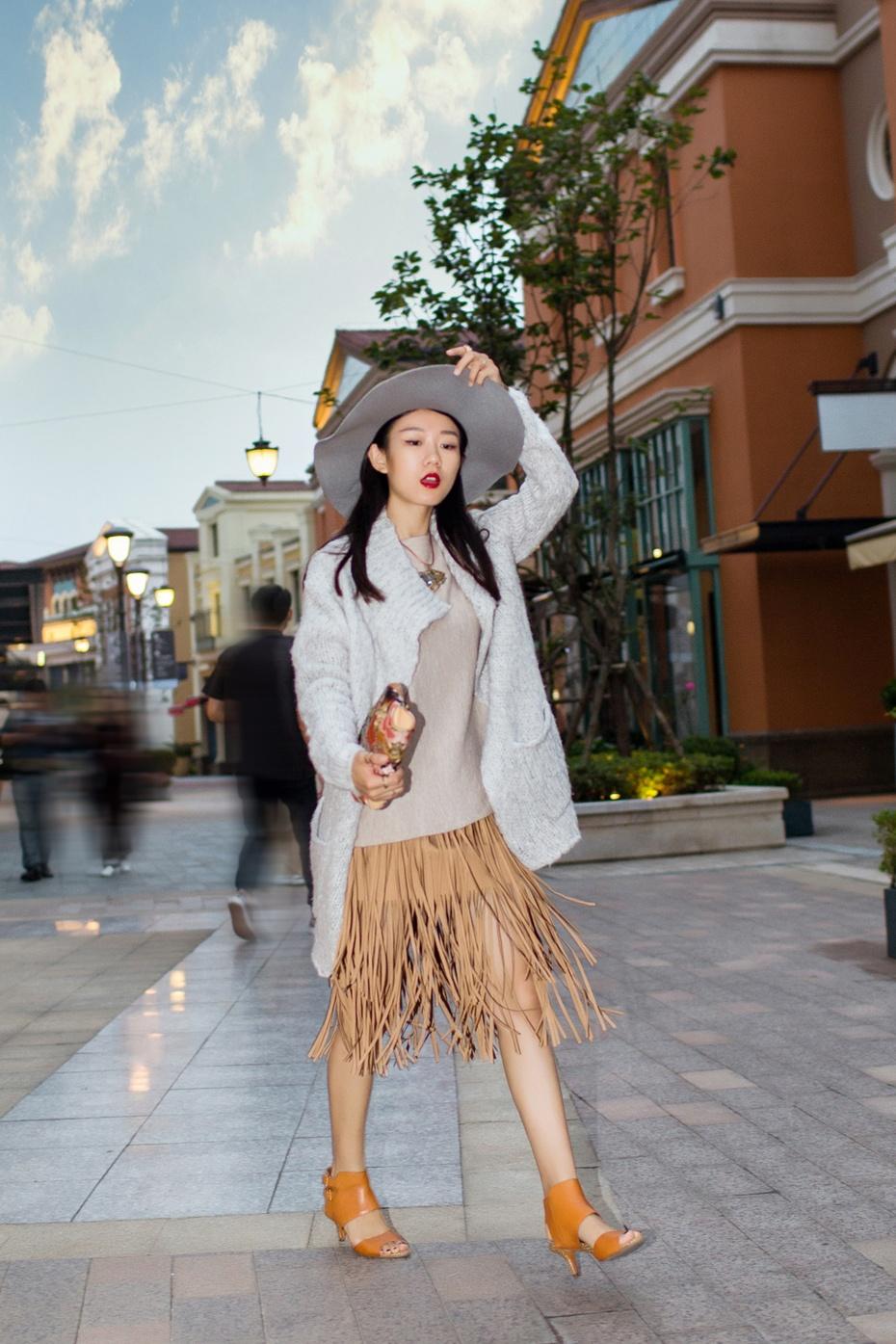 [Ava搭配日记]蝙蝠袖毛衣穿搭术 - AvaFoo - Avas Fashion Blog